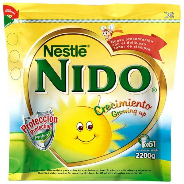Nestlé NIDO Crecimiento Bolsa, 2200 g