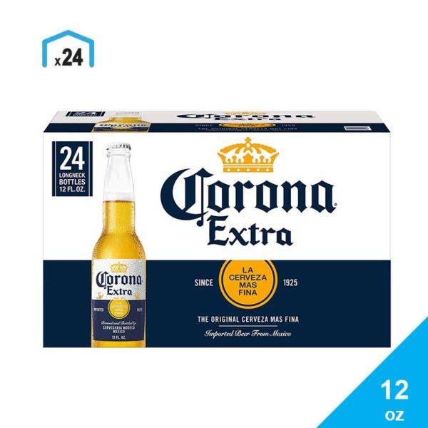 Cerveza Corona, 12 oz Caja (24 uds)