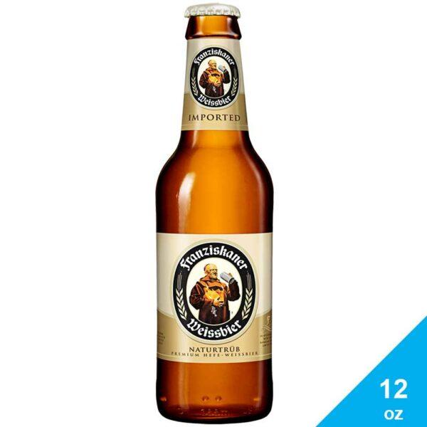 Cerveza Franziskaner Weissbier, 12 oz