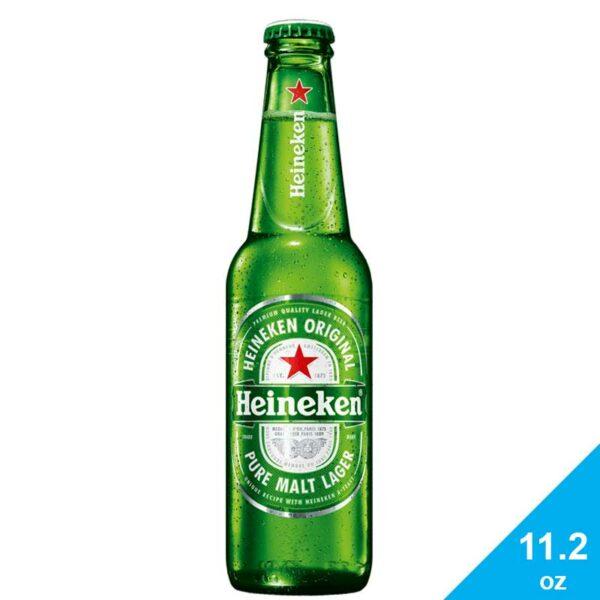 Cerveza Heineken, 11.2 oz