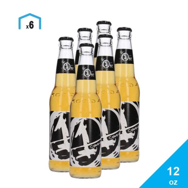 Cerveza The One, 12 oz (6 pack)