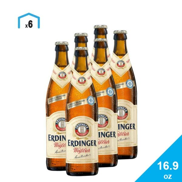 Cerveza Erdinger Weißbier, 16.9 oz