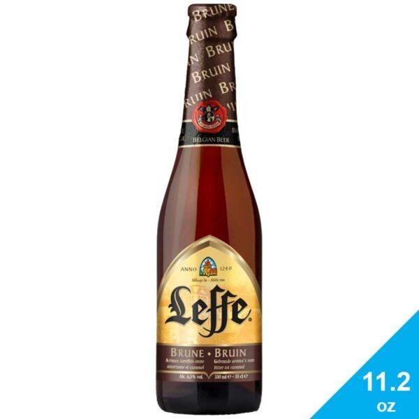 Cerveza Leffe Oscura, 11.2 oz