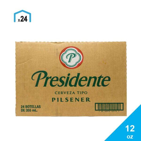 Cerveza Presidente, 12 oz