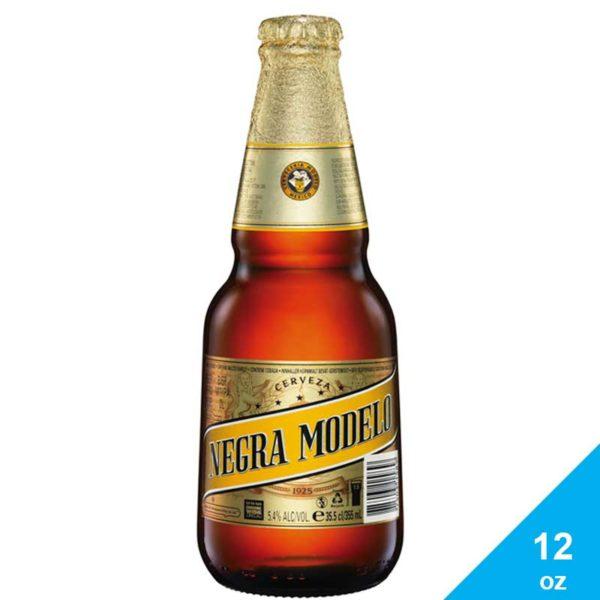 Cerveza Modelo Negra, 12 oz