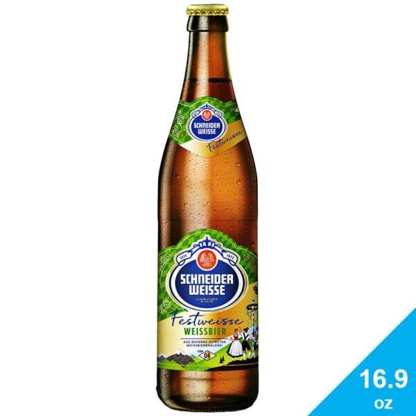 Cerveza Schneider Weisse Tap 4 Meine Festweisse, 16.9 oz