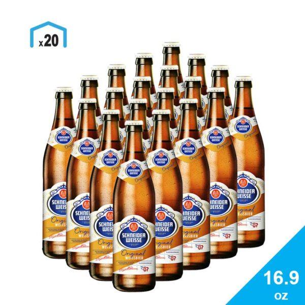 Cerveza Schneider Weisse Tap 7 Mein Original, 16.9 oz
