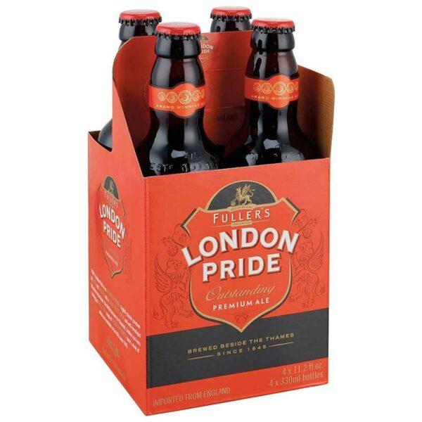 Cerveza Fuller's London Pride, 11.2 oz (4 Pack)