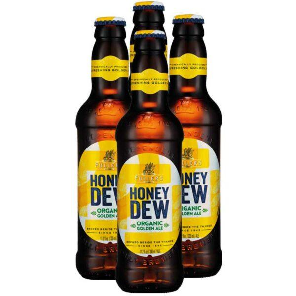 Cerveza Fuller's Organic Honey Golden Ale, 11.2 oz