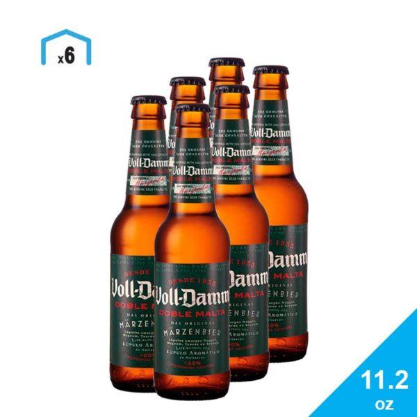 Cerveza Voll Damm Doble Malta, 11.2 oz