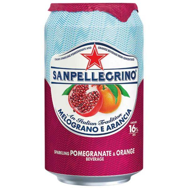 San Pellegrino Melograno e Arancia, 330 ml