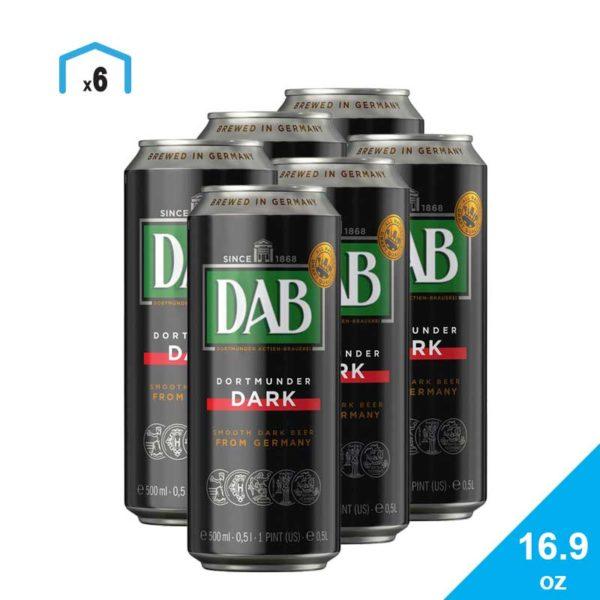Cerveza Dab Dark, 16.9 oz