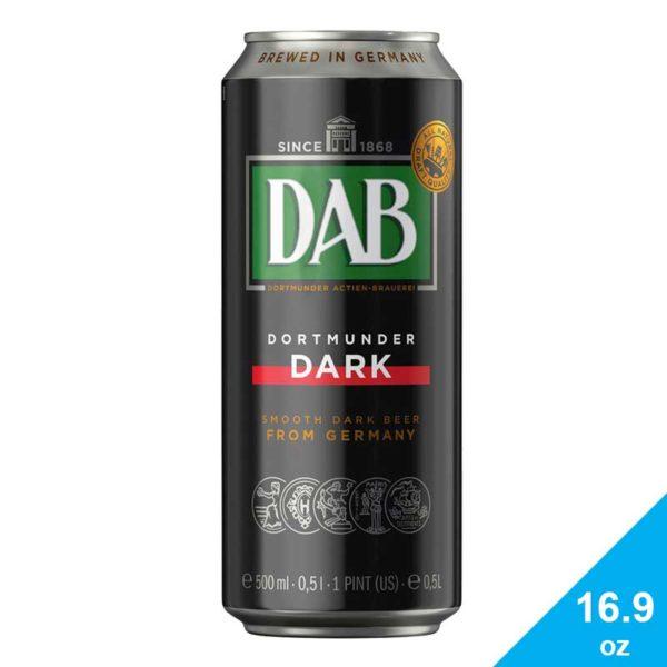 Cerveza Dab Dark, 16.9 oz (6 Pack)