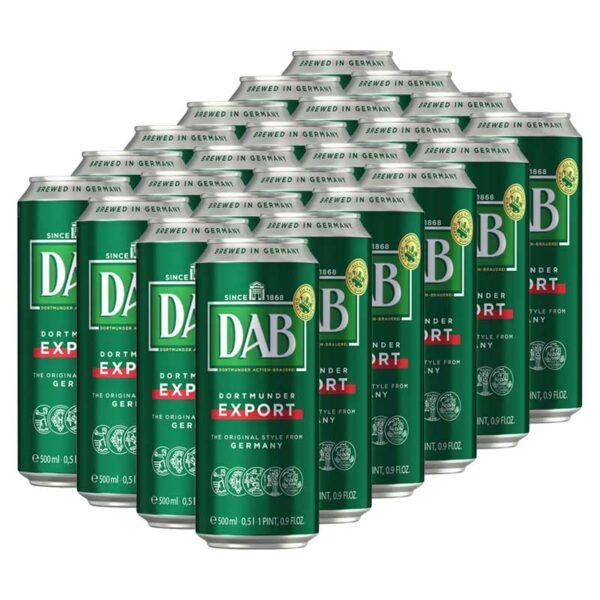 Cerveza Dab Dortmunder Export Lata, 16.9 oz