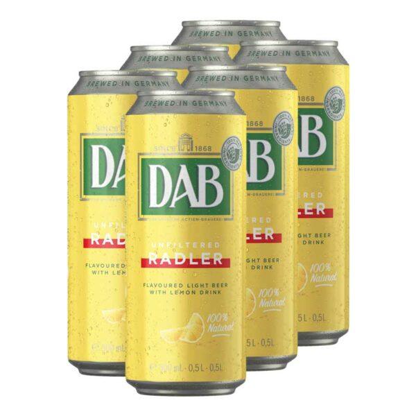 Cerveza Dab Radler, 16.9 oz