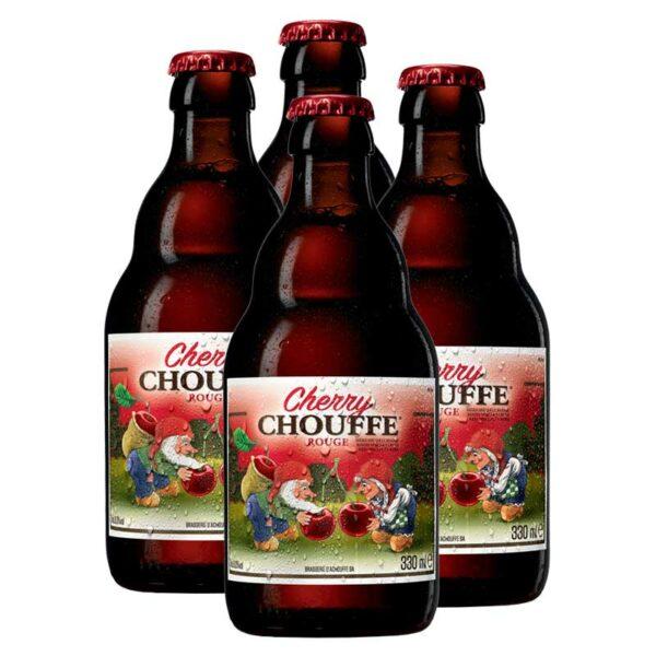 Cerveza Cherry Chouffe, 11.2 oz