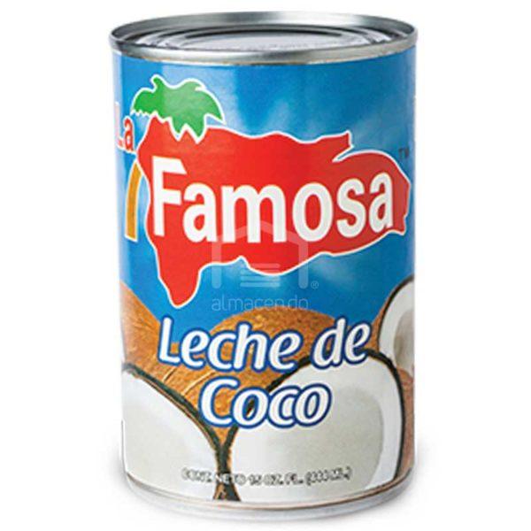 Leche de Coco La Famosa, 12 oz
