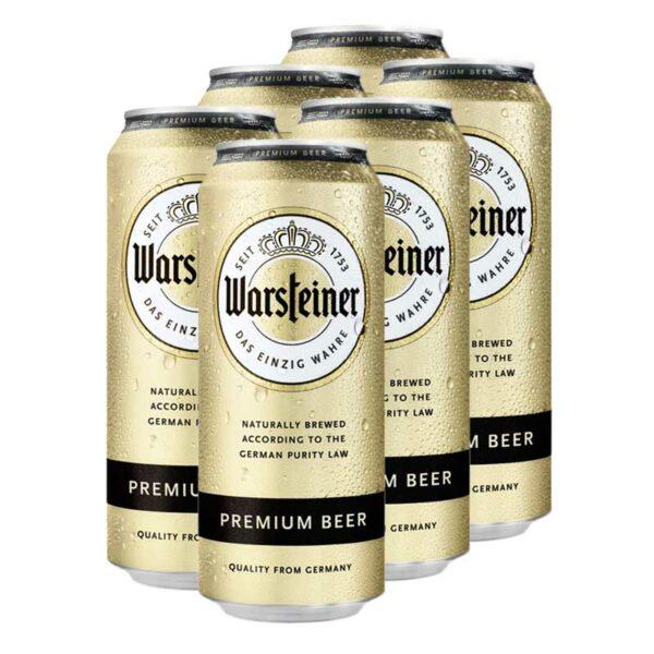 Cerveza Warsteiner Premium Lata, 16.9 oz