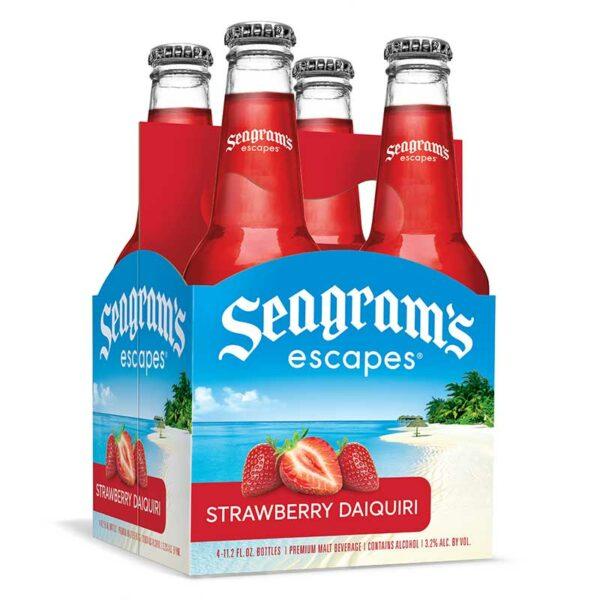 Cóctel Seagram's Escapes Strawberry Daiquiri, 11.2 oz