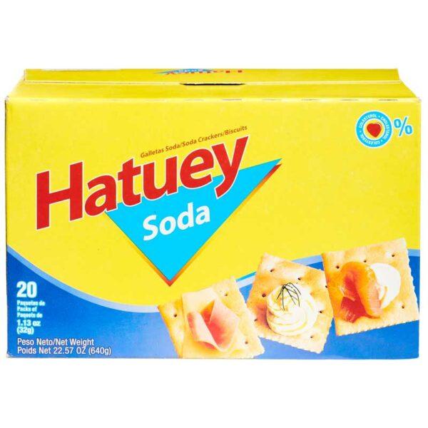 Galleta de Soda Hatuey (20 uds)