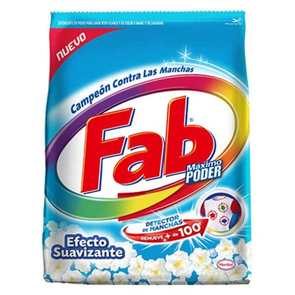 Detergente Fab Maximo Poder Efecto Suavizante, 1700 g