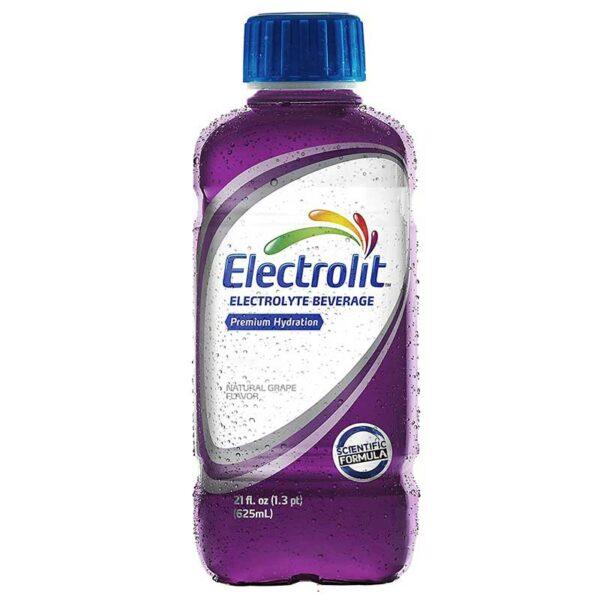 Electrolit Suero Rehidratante Sabor Uva, 21 oz