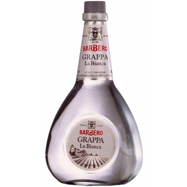 Licor Grappa Barbero La Bianca, 700 ml