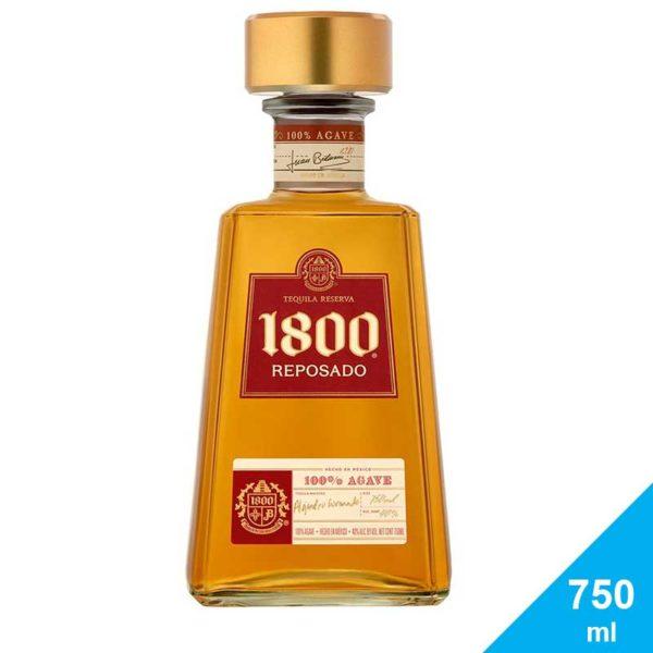 Tequila 1800 Reposado, 750 ml