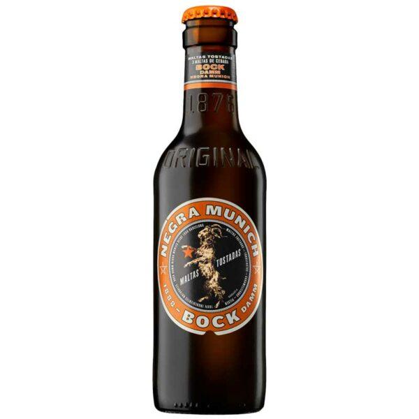 Cerveza Bock Damm Negra Munich, 8.4 oz