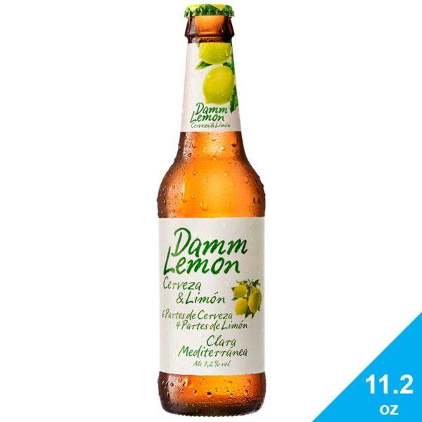 Cerveza Damm Lemon, 11.2 oz