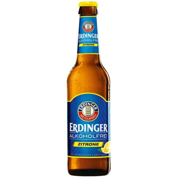Cerveza Erdinger Alkoholfrei Lemon, 11.2 oz