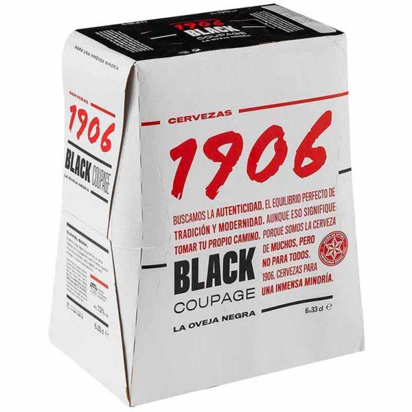 Cerveza 1906 Black Coupage, 11.2 oz (6 pack)