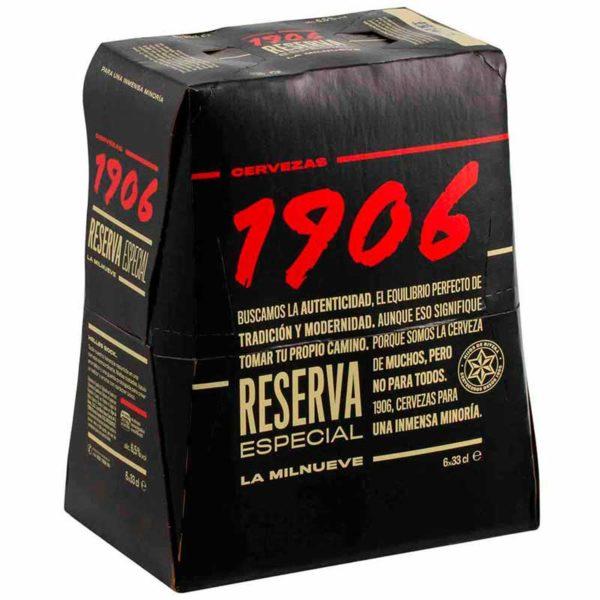 Cerveza 1906 Reserva Especial, 11.2 oz (6 pack)