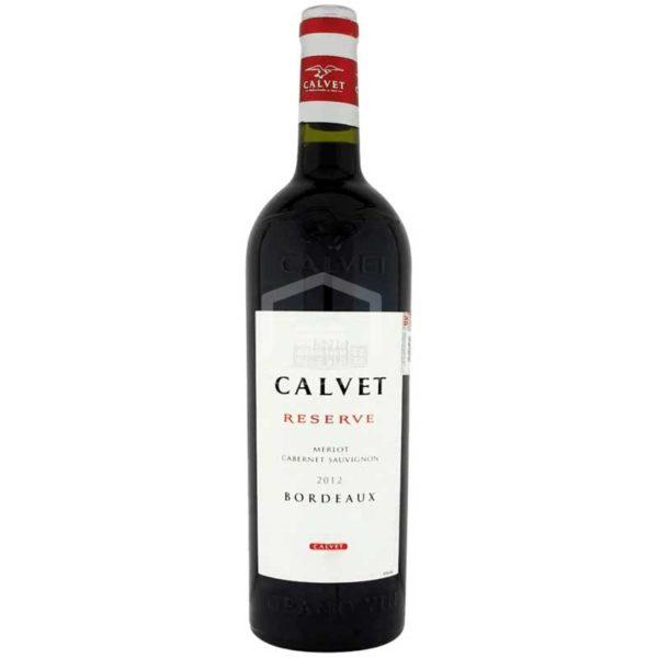Vino Tinto Calvet Reserve Merlot, 700 ml