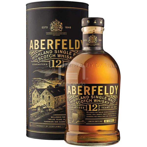 Whisky Escocés Aberfeldy 12 años, 700 ml