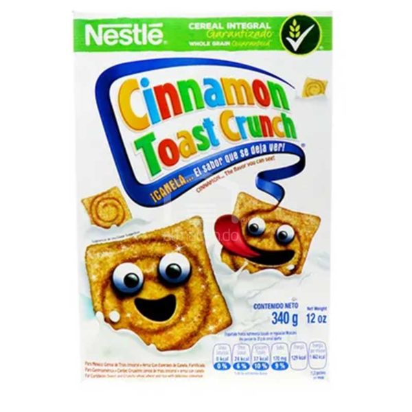 Cereal Cini Minis Tostada de Canela Crujiente, 340 g