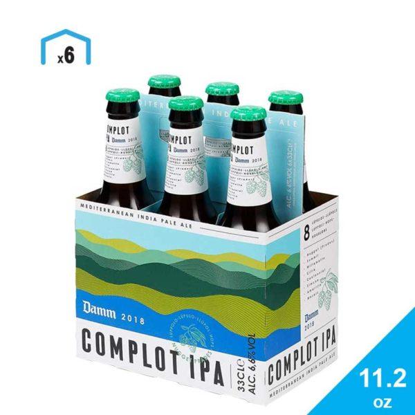 Cerveza Damm Complot Ipa, 11.2 oz