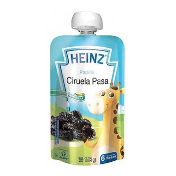 Compota Heinz Ciruela a partir de los 6 Meses Flexible, 113 g