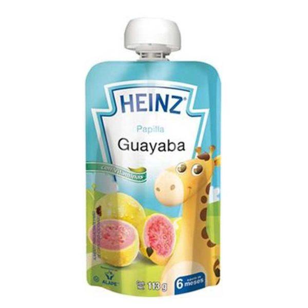 Compota Heinz Guayaba a partir de los 6 Meses Flexible, 113 g
