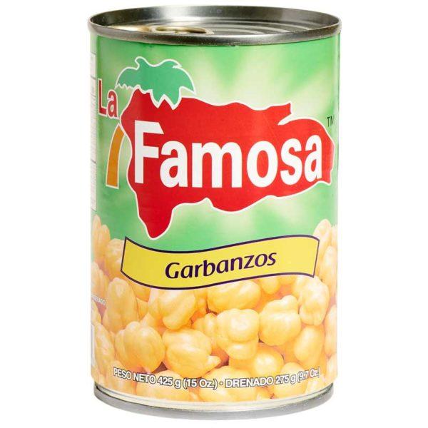 Garbanzos La Famosa, 15 oz