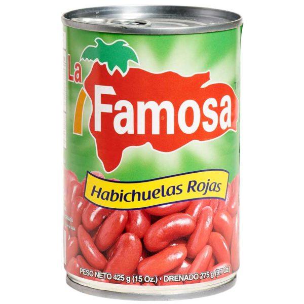 Habichuelas Rojas La Famosa, 15 oz