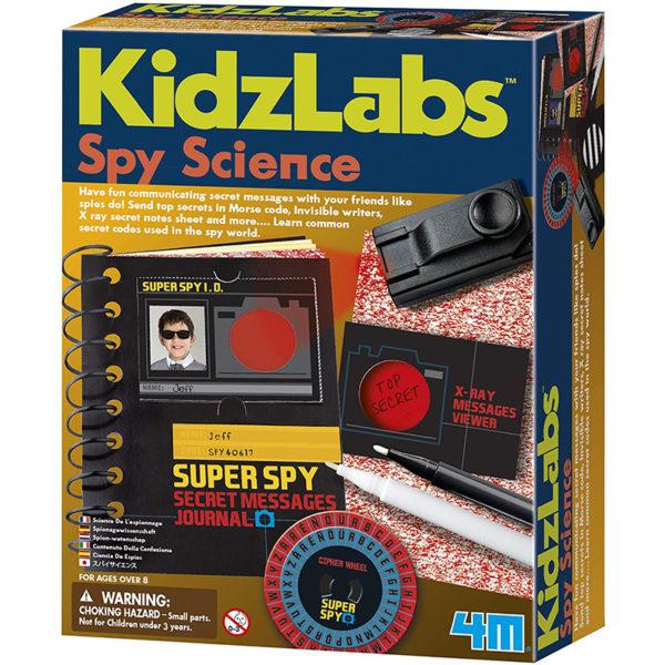 KidzLabs Ciencia del Espionaje
