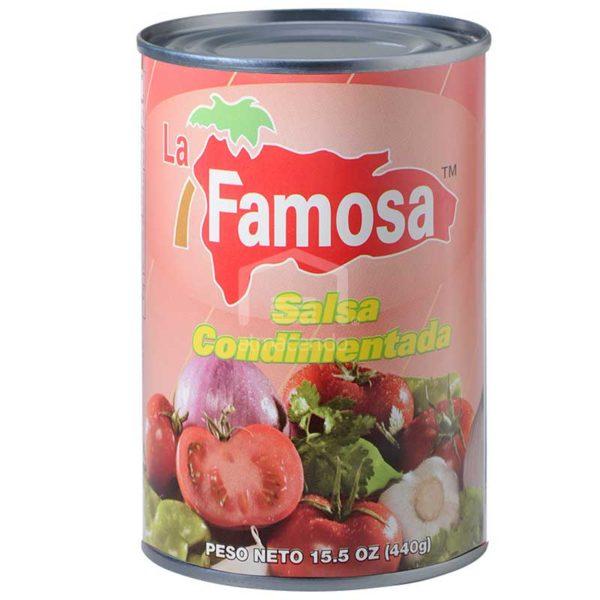 Salsa Condimentada La Famosa, 15.5 oz