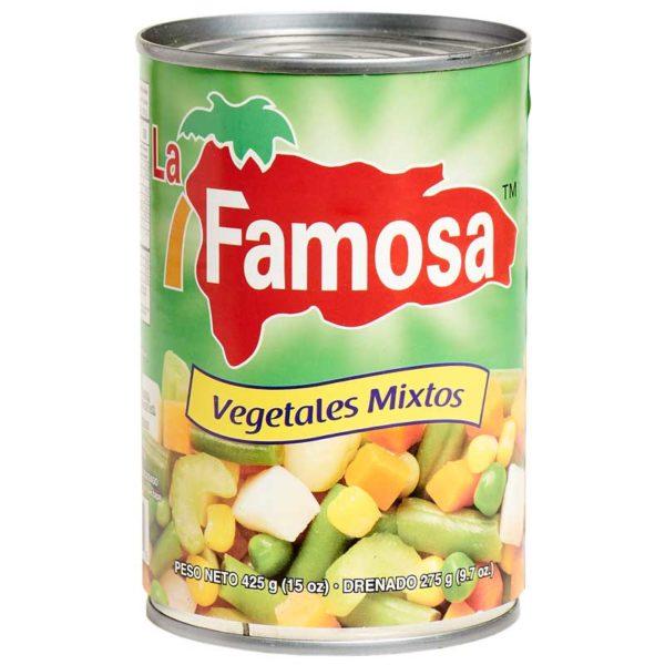 Vegetales Mixtos La Famosa, 15 oz