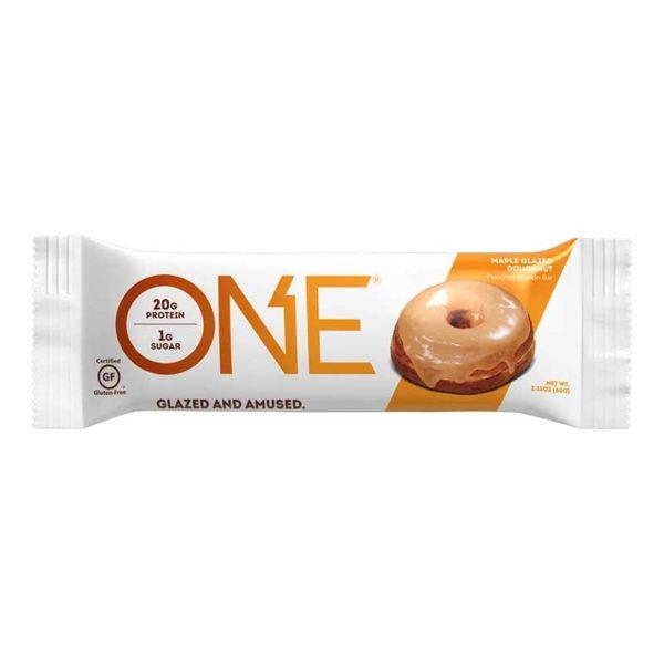 Barras ONE Donut glaseado de Arce, 2.12 oz