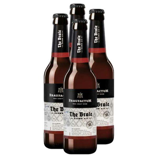 Cerveza Braufactum The Brale Brown Ale, 11.2 oz