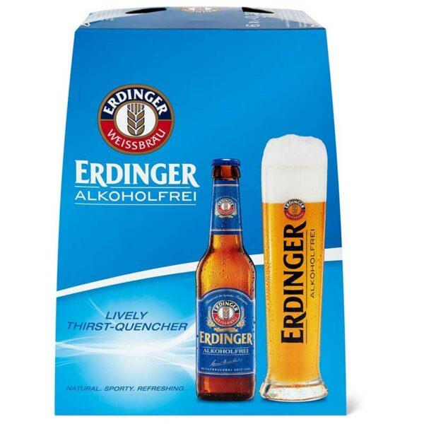 Cerveza Erdinger Alkoholfrei, 11.2 oz
