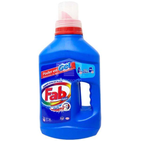 Detergente en Gel Fab, 2 L