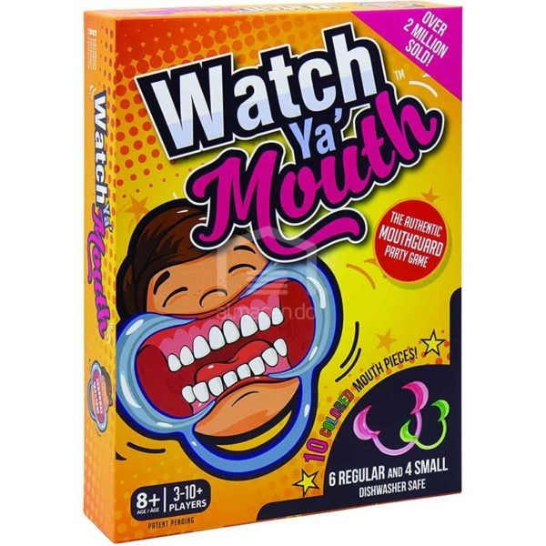 Juego de Mesa Watch Ya' Mouth (Mira tu Boca)