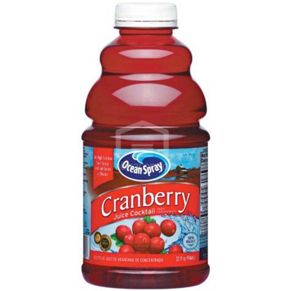 Jugo Ocean Spray Cranberry Original, 32 oz